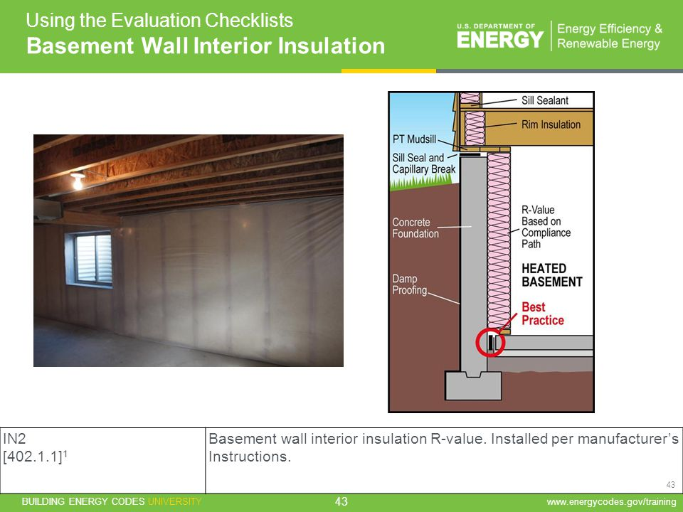 Residential evaluator training ppt download for What r value do i need for exterior walls