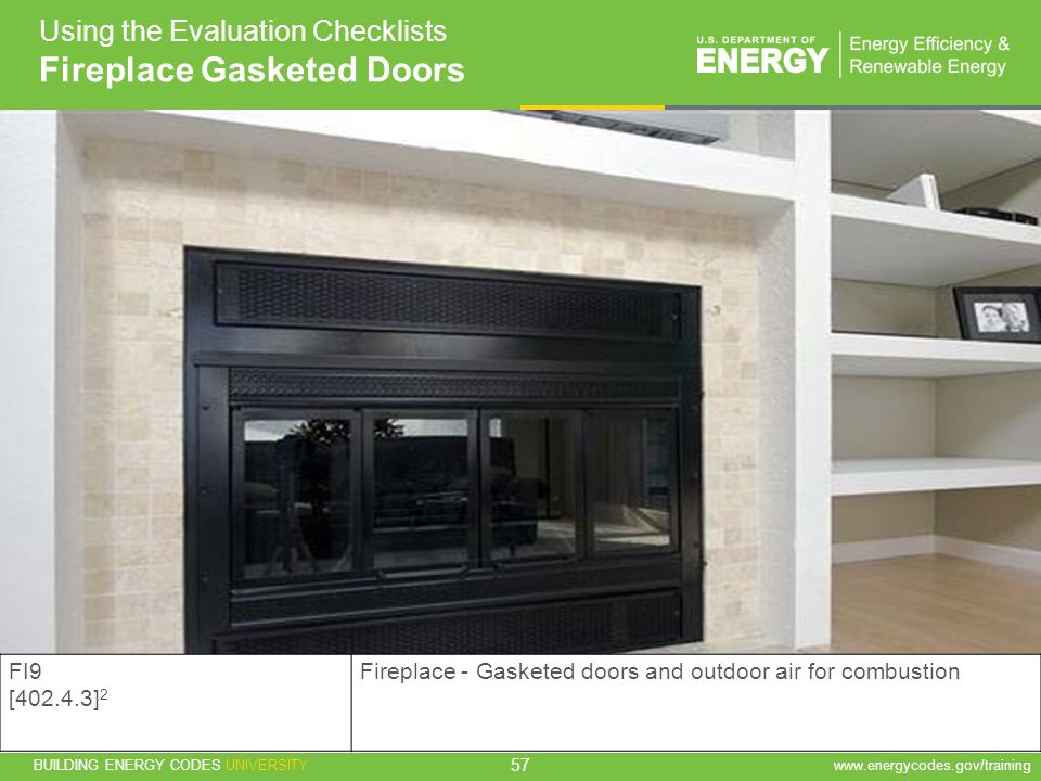 Fireplace Gasketed Doors