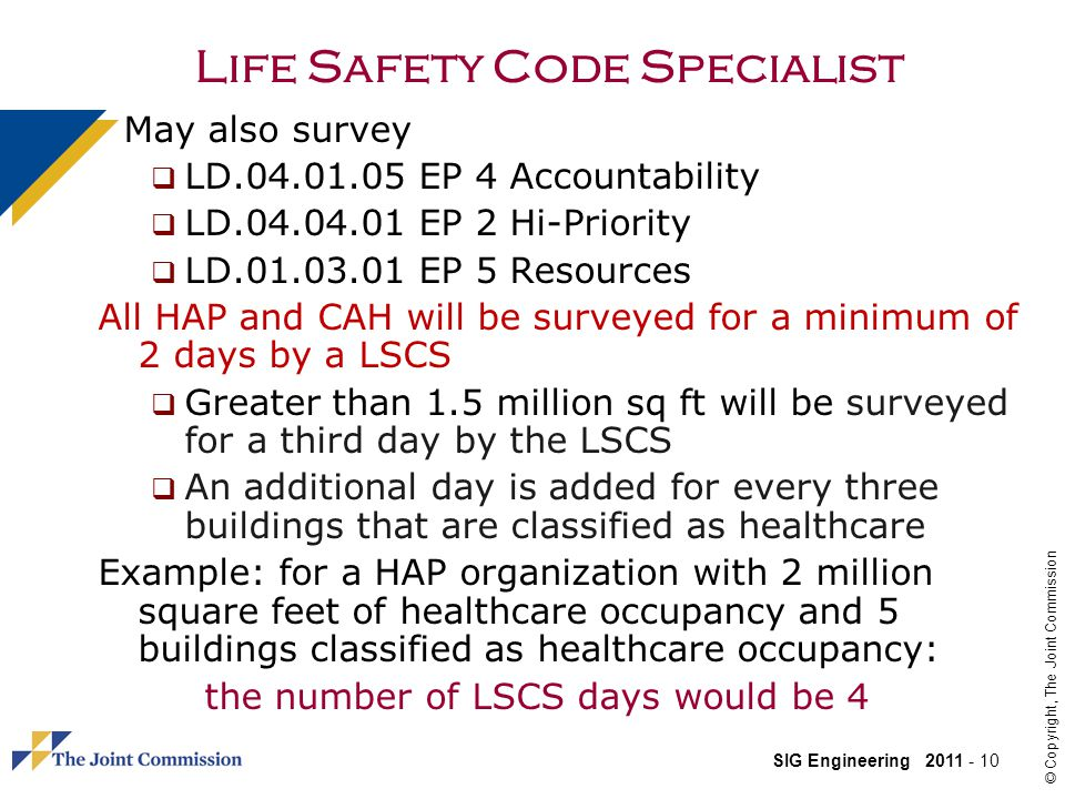 Life Safety Code Specialist