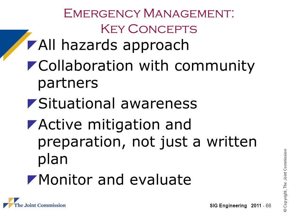 Emergency Management: Key Concepts