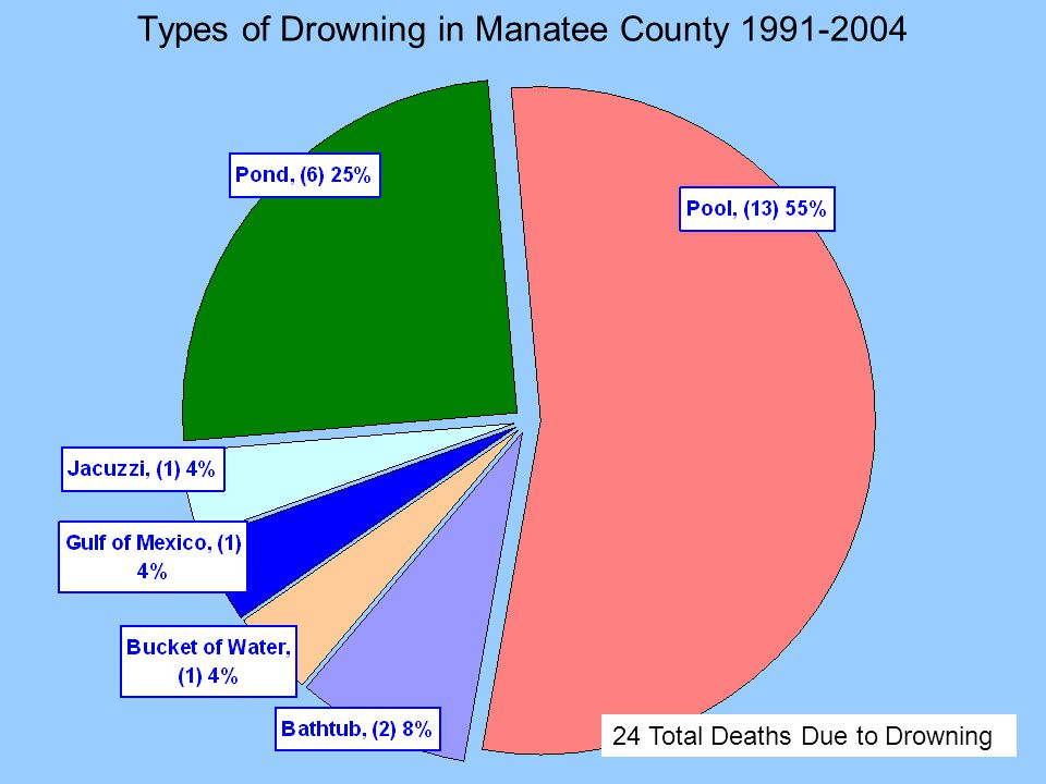 Types of Drowning in Manatee County 1991-2004