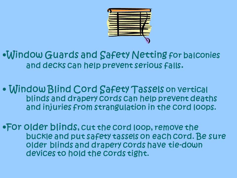 Window Guards and Safety Netting for balconies