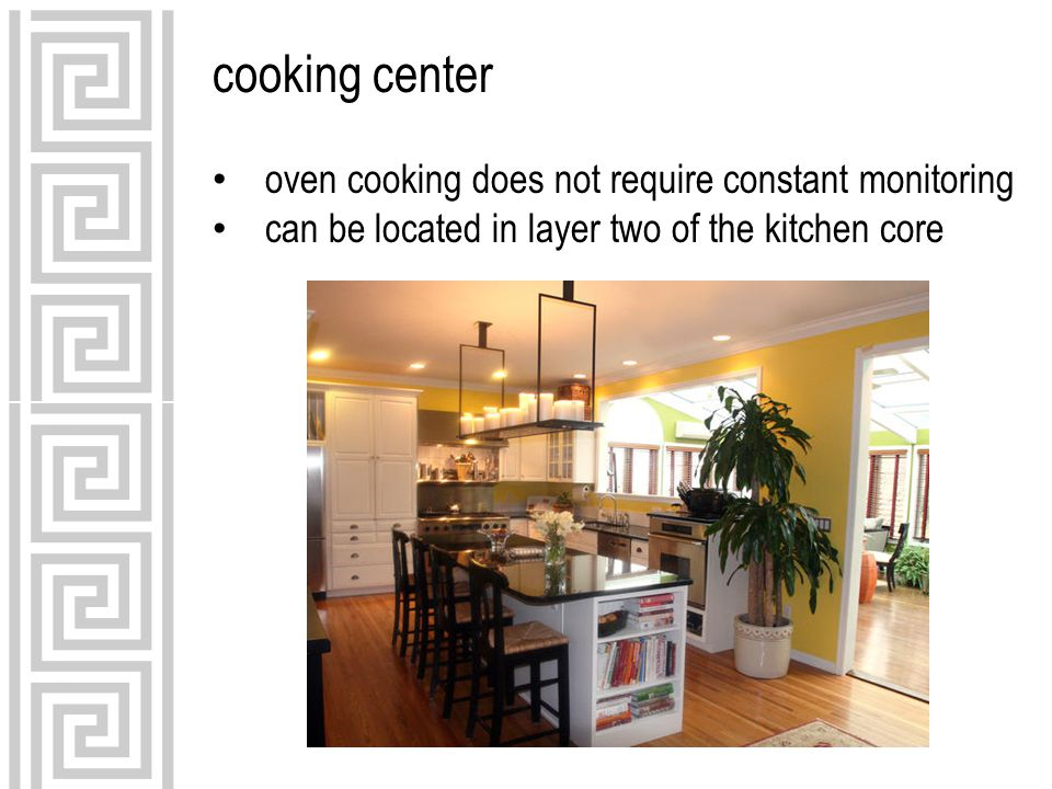 cooking center oven cooking does not require constant monitoring