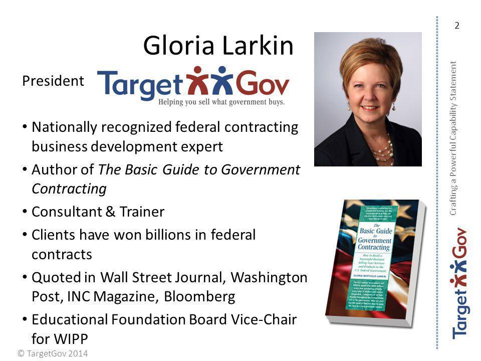 Gloria Larkin President