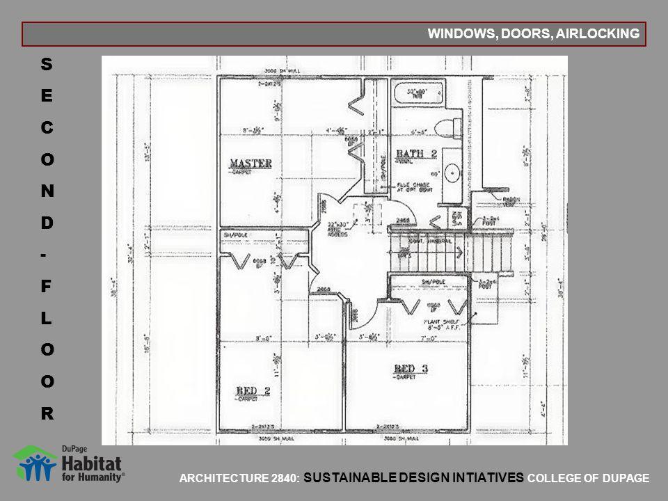 WINDOWS, DOORS, AIRLOCKING