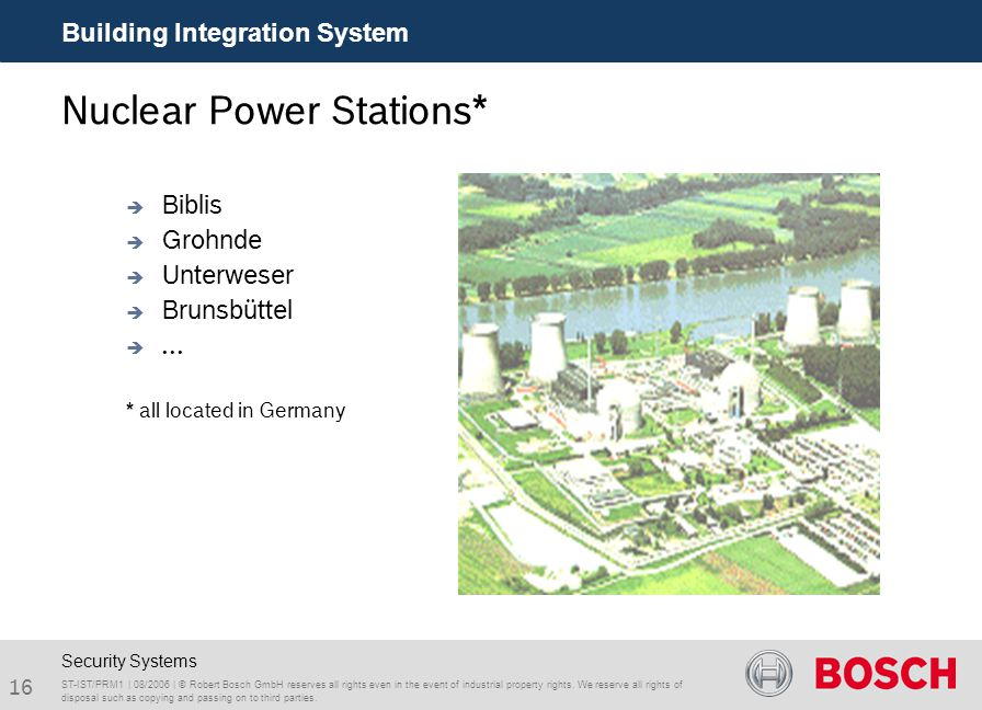 Nuclear Power Stations*