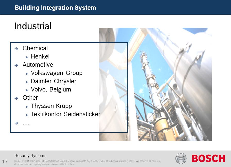 Industrial Building Integration System Chemical Henkel Automotive