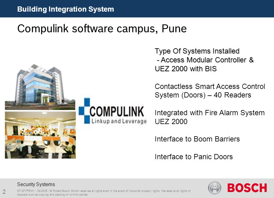 Compulink software campus, Pune