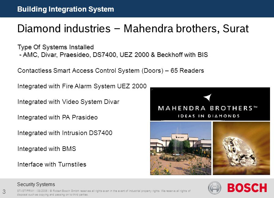Diamond industries – Mahendra brothers, Surat