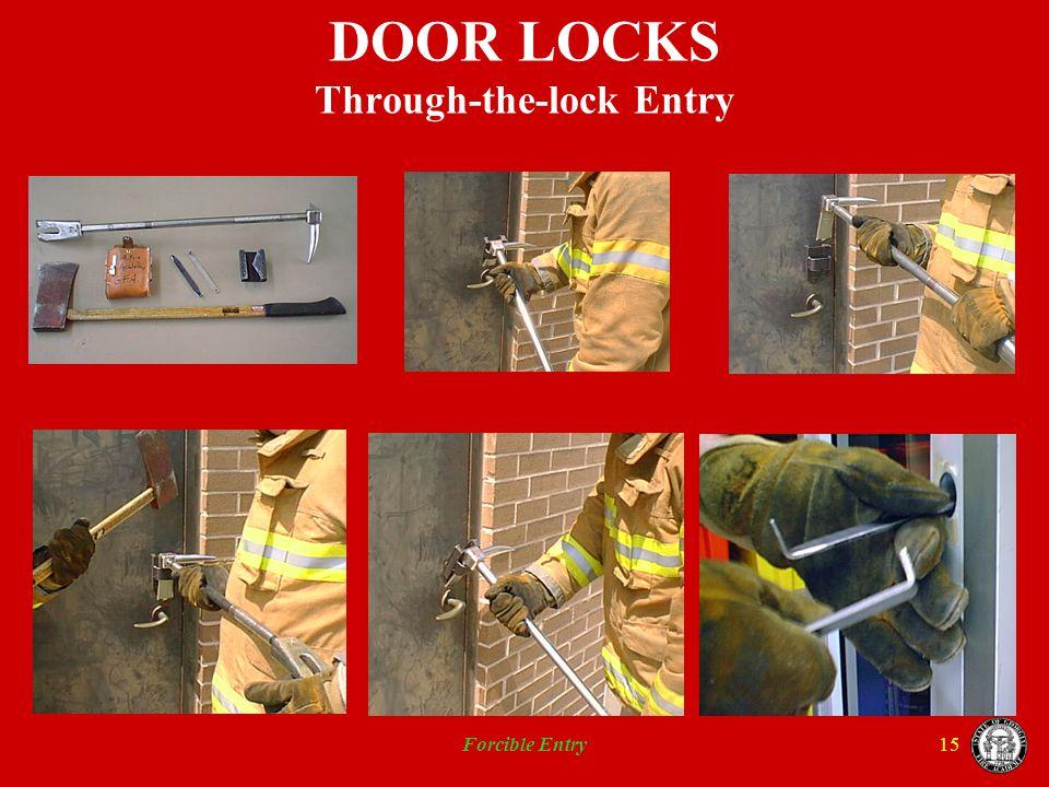 DOOR LOCKS Through-the-lock Entry