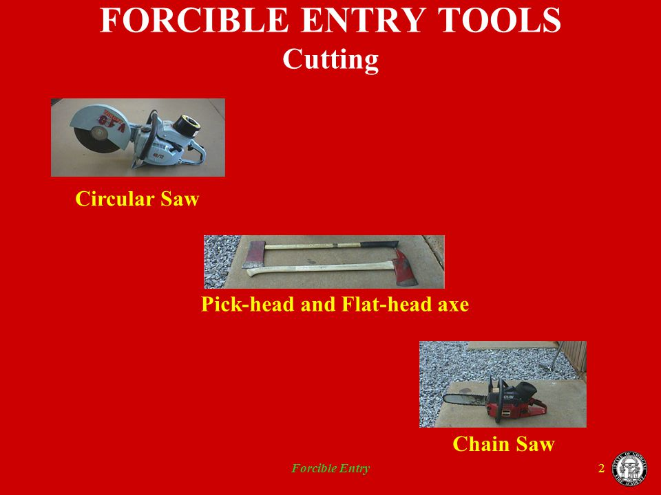 FORCIBLE ENTRY TOOLS Cutting