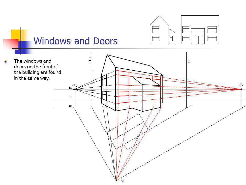 Windows and Doors VP1. VP2. EL. GL. PP. SP.