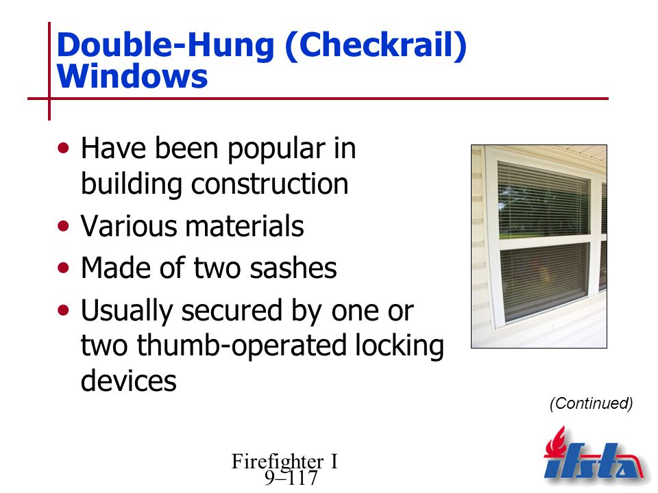 Double-Hung (Checkrail) Windows