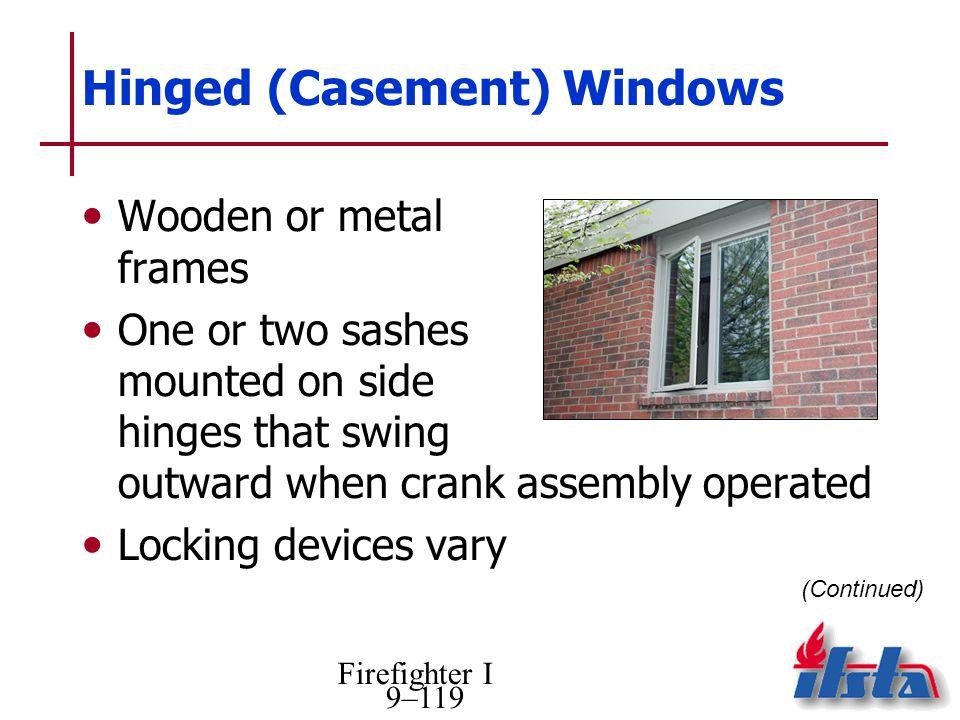 Hinged (Casement) Windows