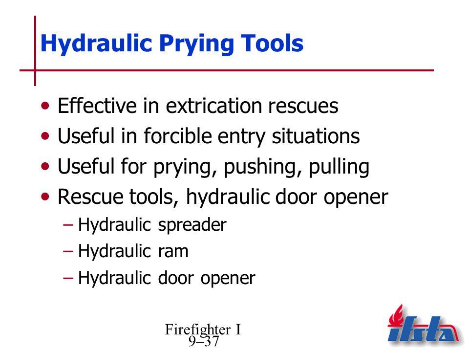 Hydraulic Prying Tools