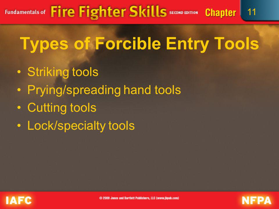 Types of Forcible Entry Tools