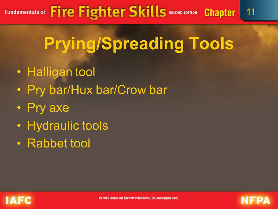 Prying/Spreading Tools