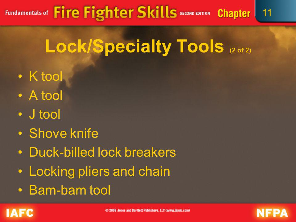 Lock/Specialty Tools (2 of 2)