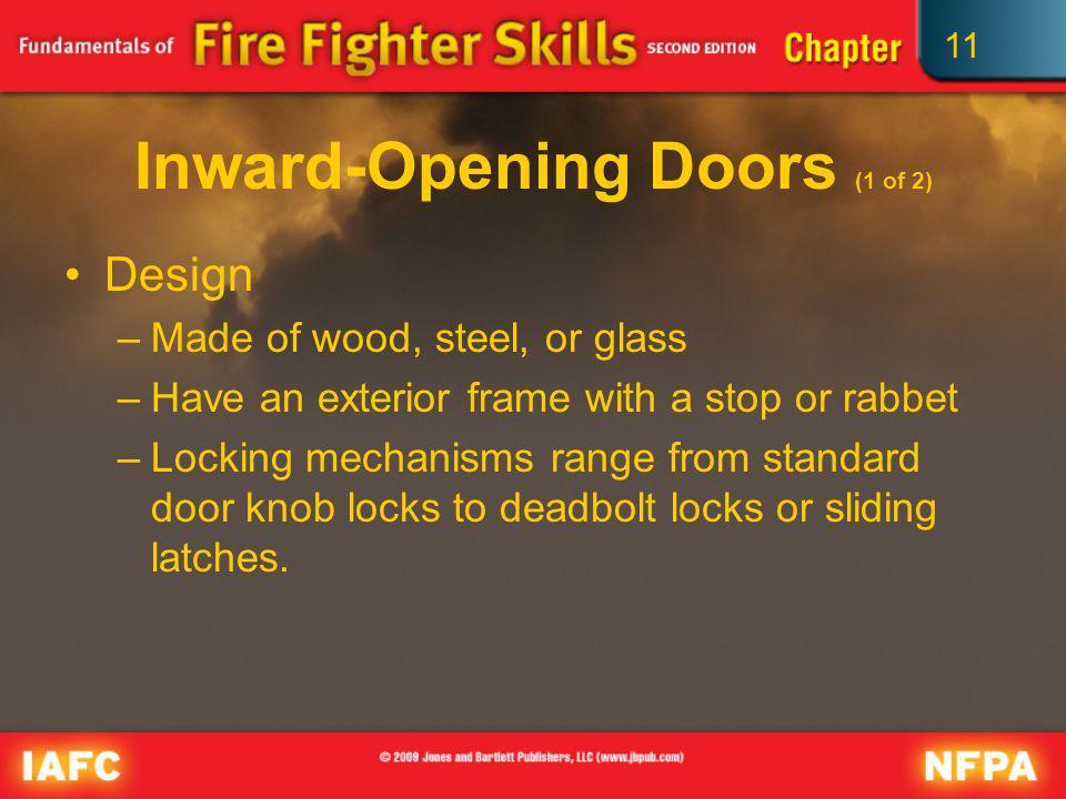 Inward-Opening Doors (1 of 2)