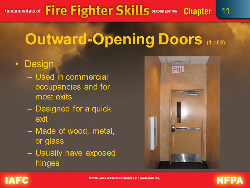 Outward-Opening Doors (1 of 2)