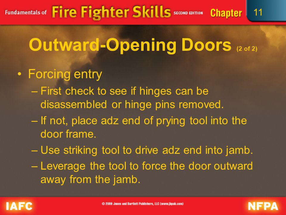 Outward-Opening Doors (2 of 2)