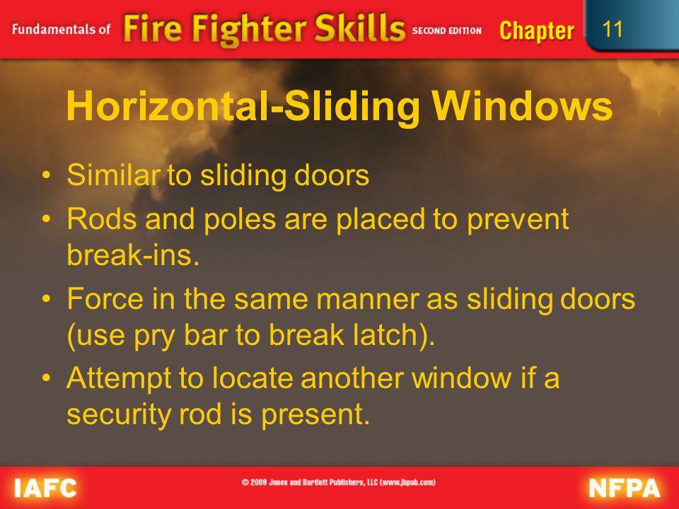 Horizontal-Sliding Windows