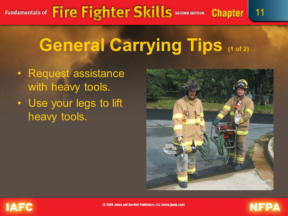 General Carrying Tips (1 of 2)