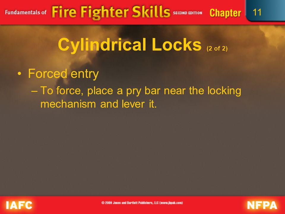 Cylindrical Locks (2 of 2)