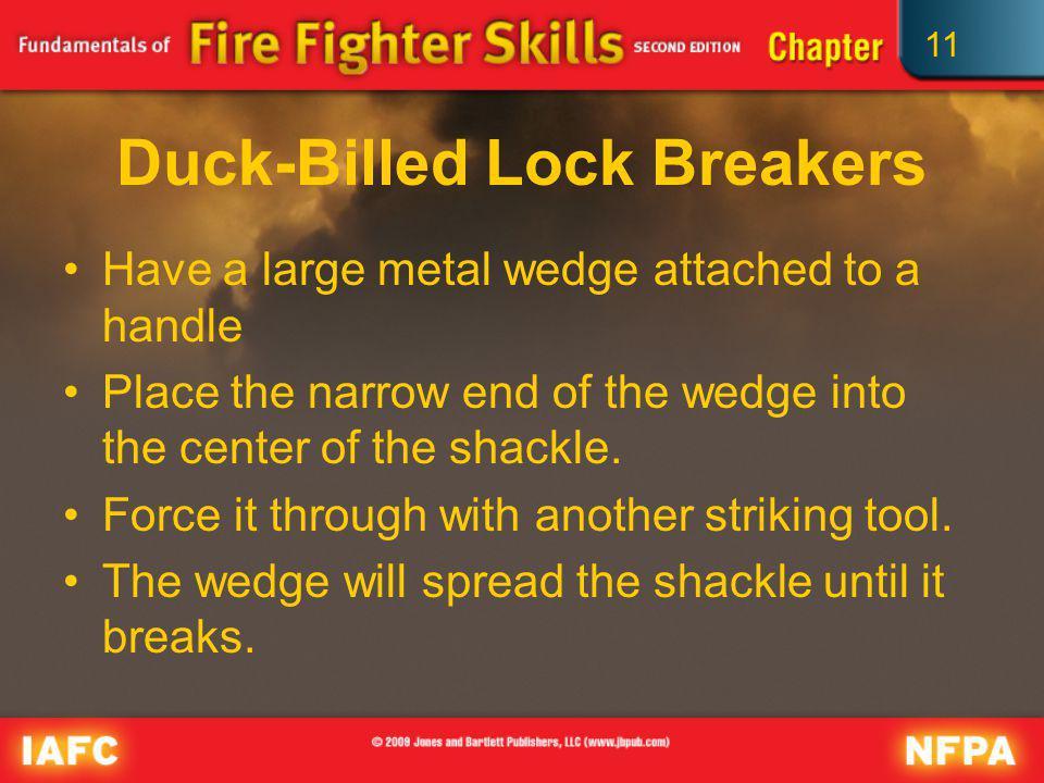 Duck-Billed Lock Breakers
