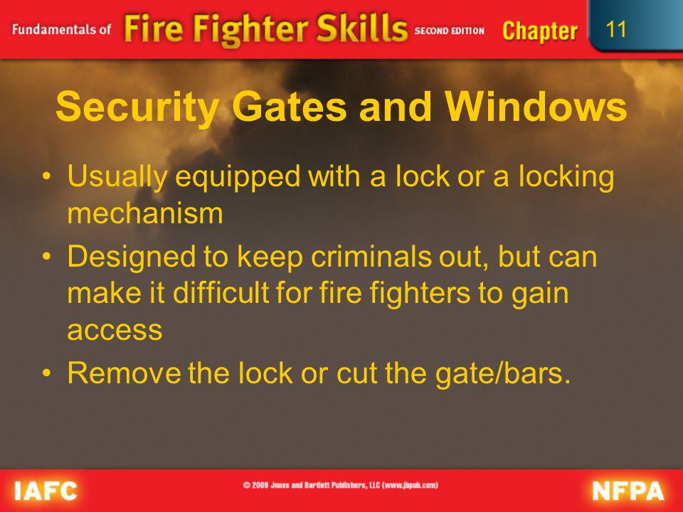 Security Gates and Windows