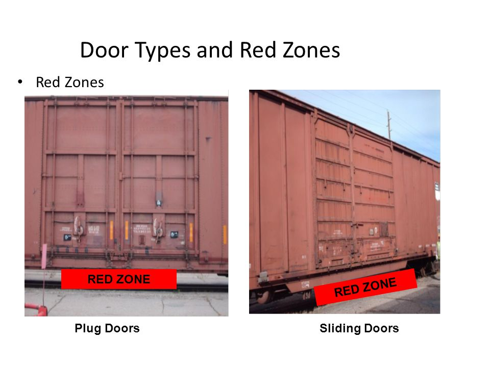 Door Types and Red Zones