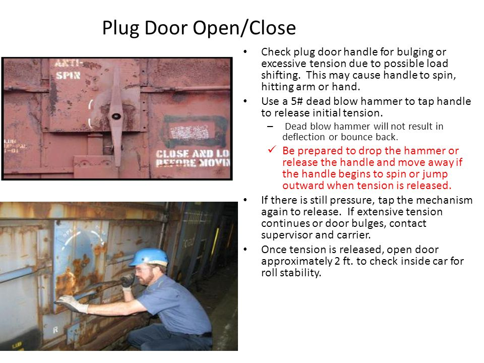Plug Door Open/Close