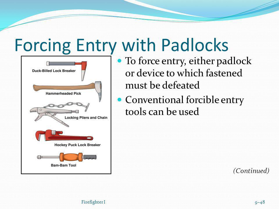 Forcing Entry with Padlocks