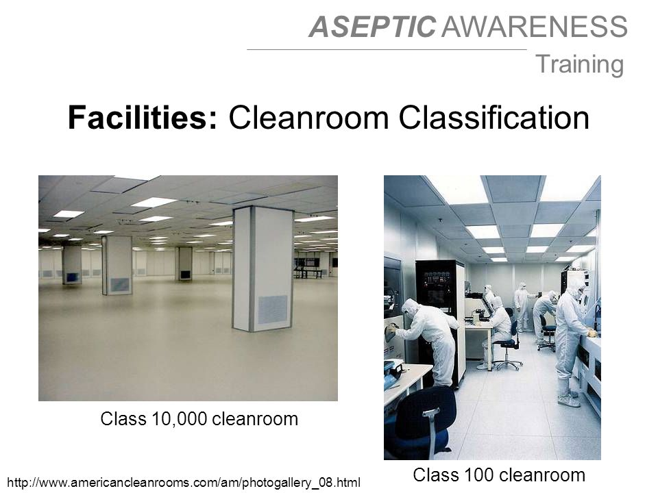 Facilities: Cleanroom Classification