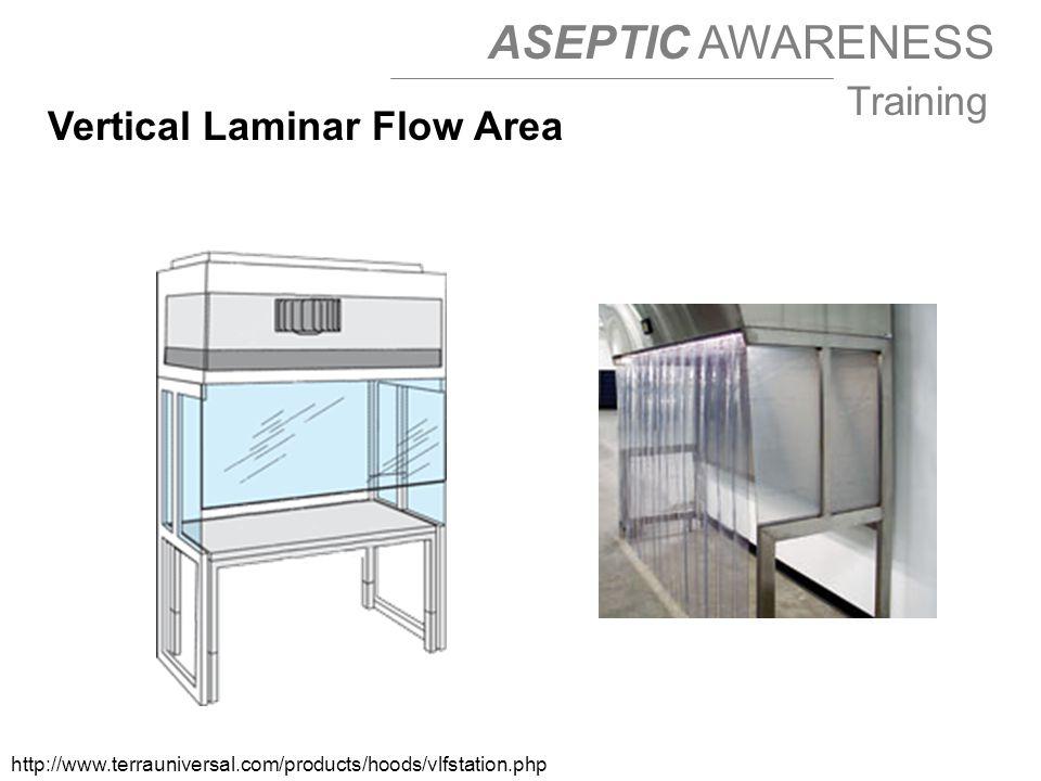 Vertical Laminar Flow Area