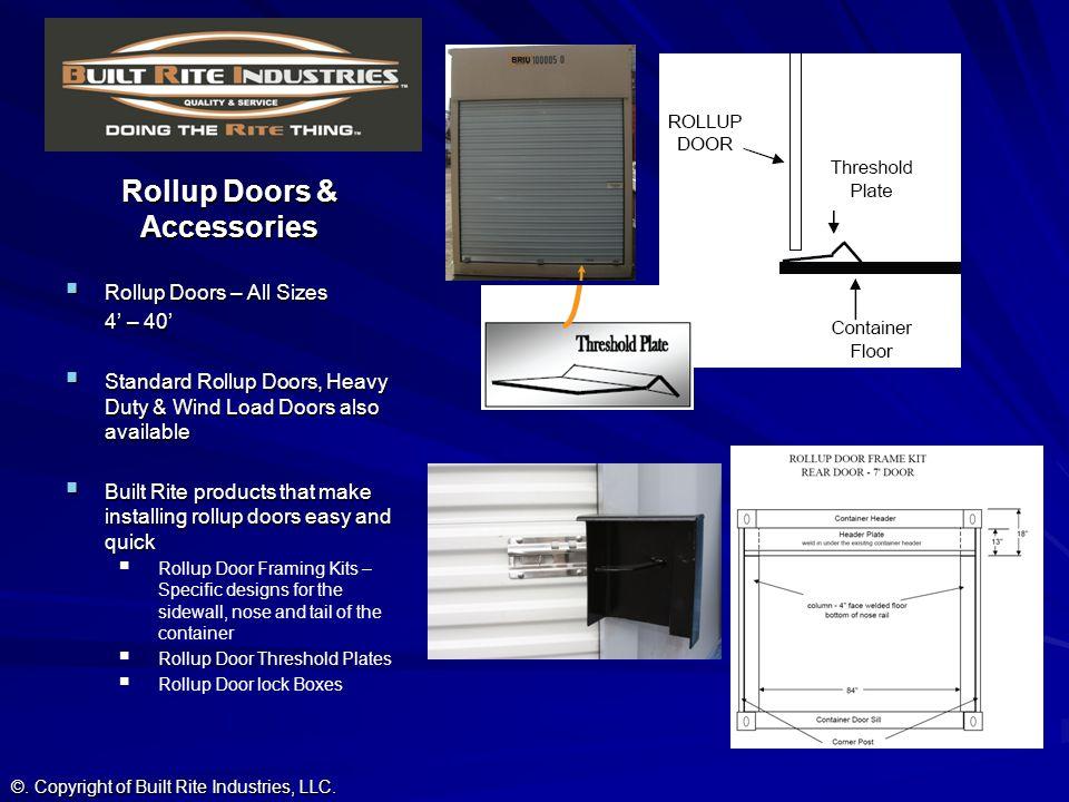 Rollup Doors & Accessories