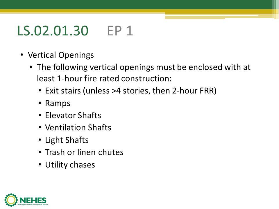 LS.02.01.30 EP 1 Vertical Openings