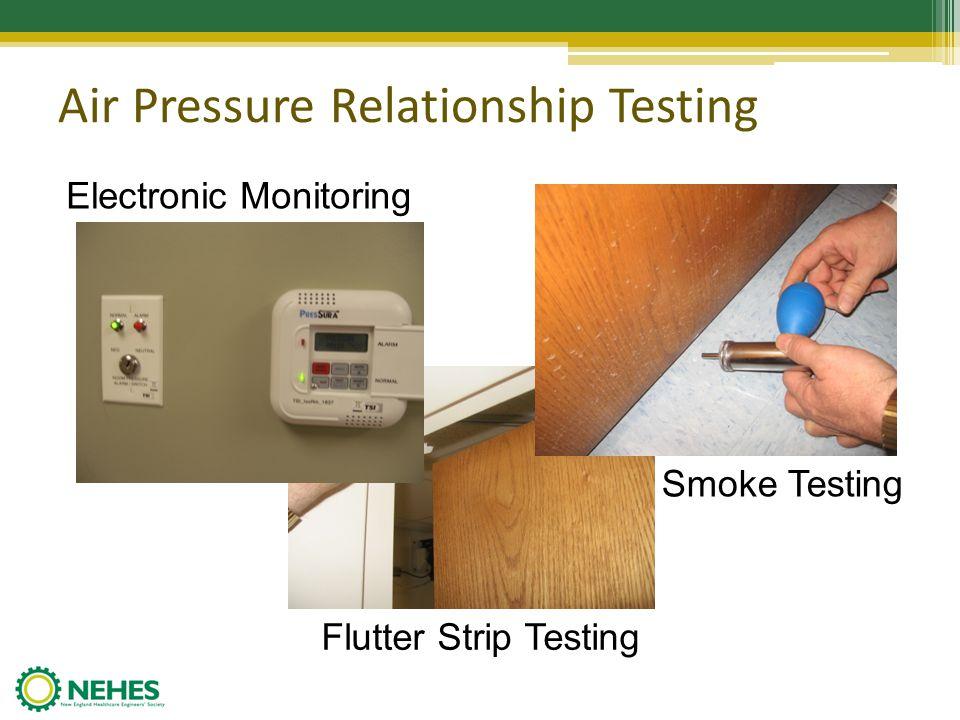 Air Pressure Relationship Testing