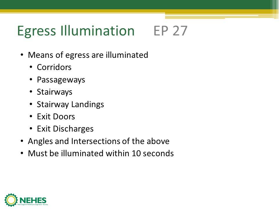 Egress Illumination EP 27
