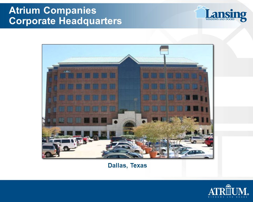 Atrium Companies Corporate Headquarters