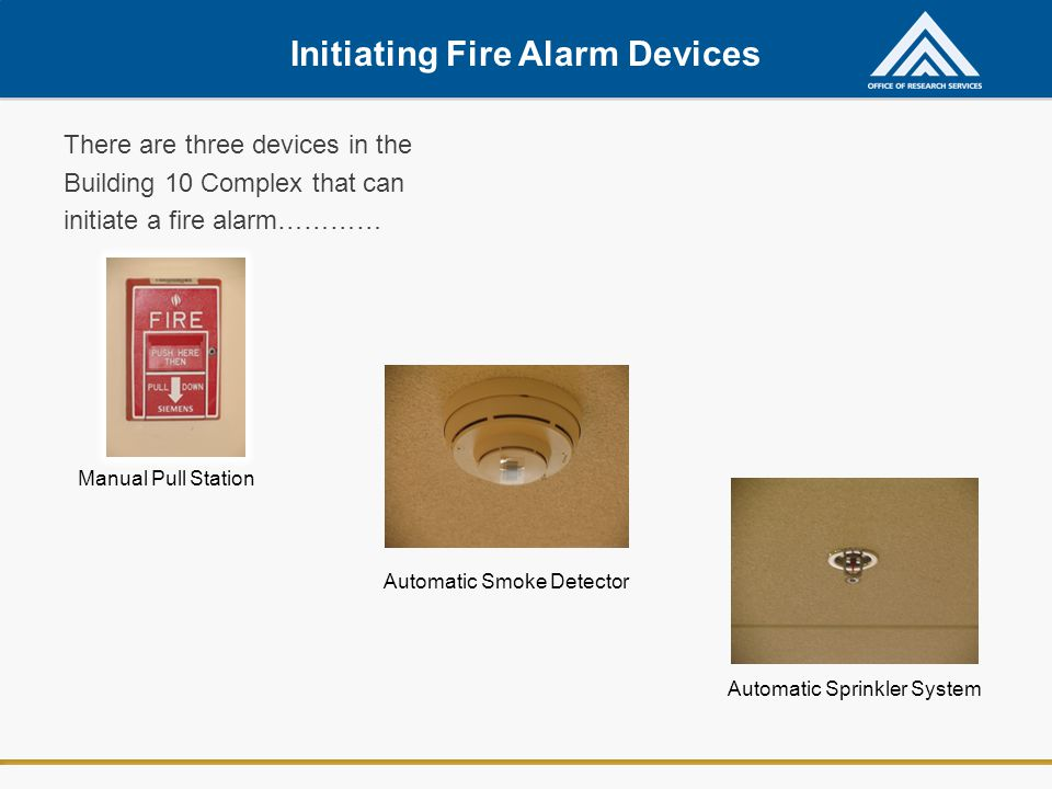 Initiating Fire Alarm Devices