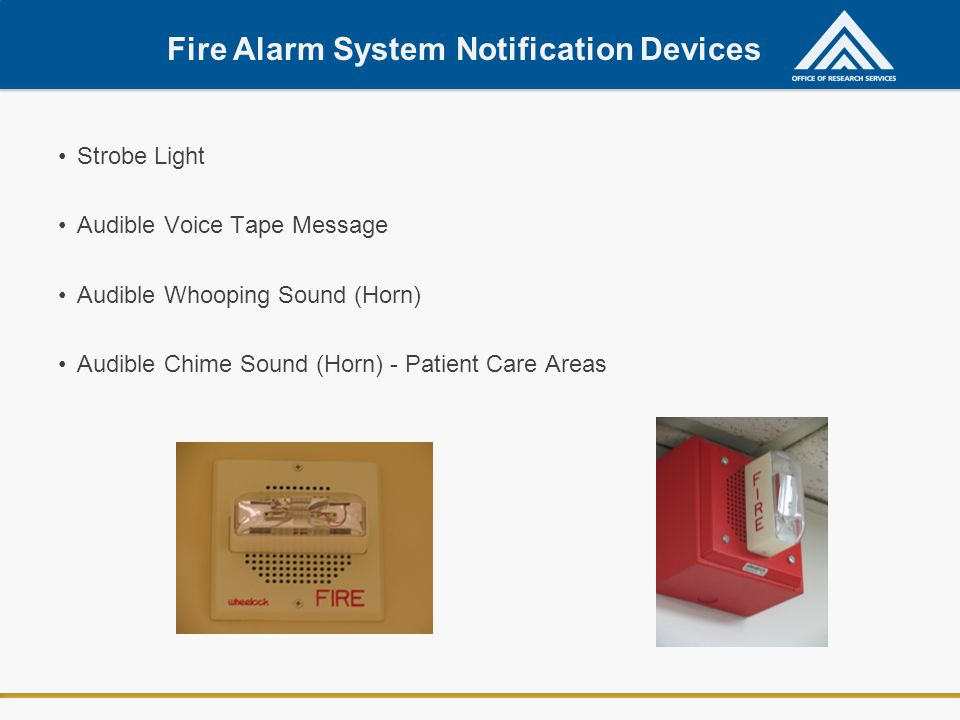 Fire Alarm System Notification Devices