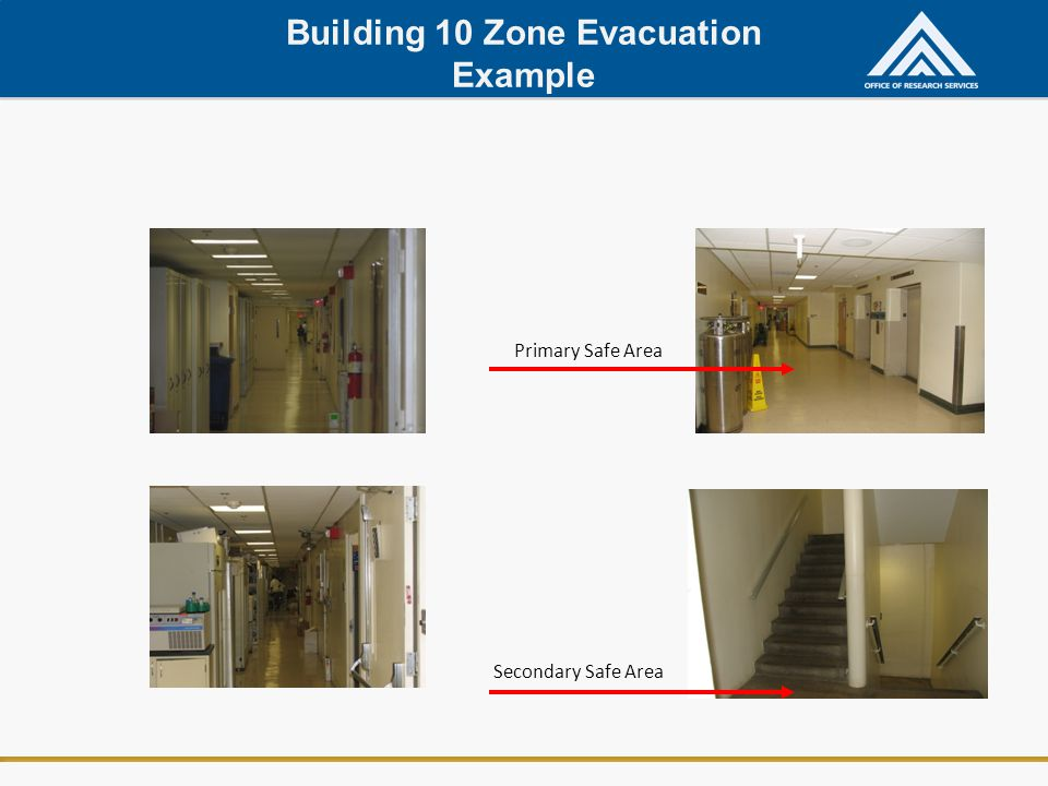 Building 10 Zone Evacuation Example