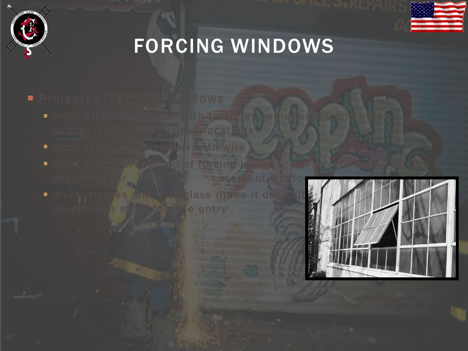 FORCING WINDOWS Projected (Factory) Windows
