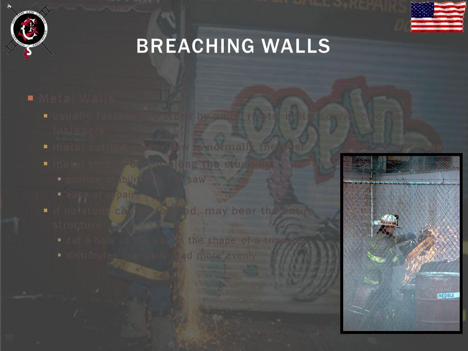 BREACHING WALLS Metal Walls