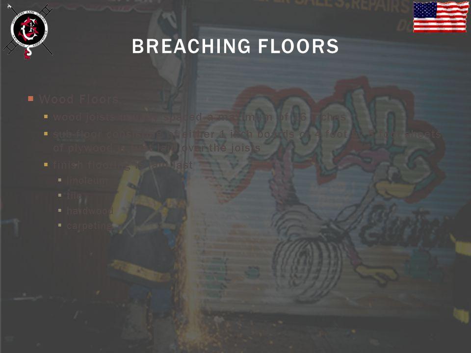 BREACHING FLOORS Wood Floors