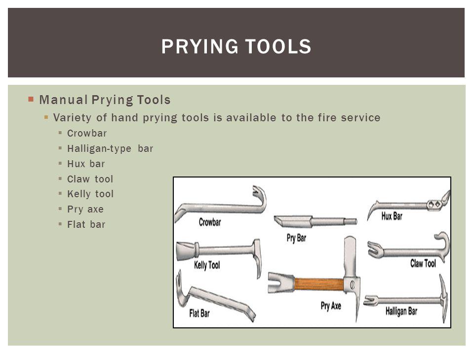 PRYING TOOLS Manual Prying Tools