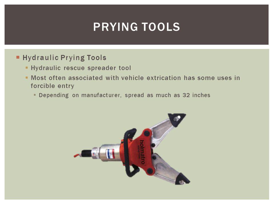 PRYING TOOLS Hydraulic Prying Tools Hydraulic rescue spreader tool