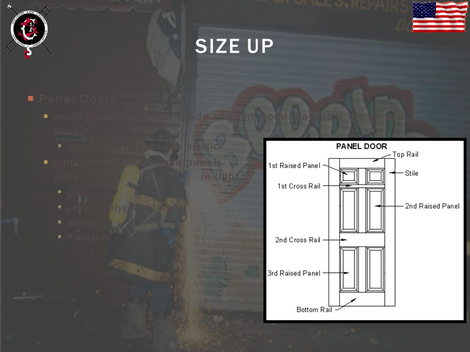 SIZE UP Panel Doors. wood panel doors are made of solid wood members insert with panels. panels may be wood or plastic.