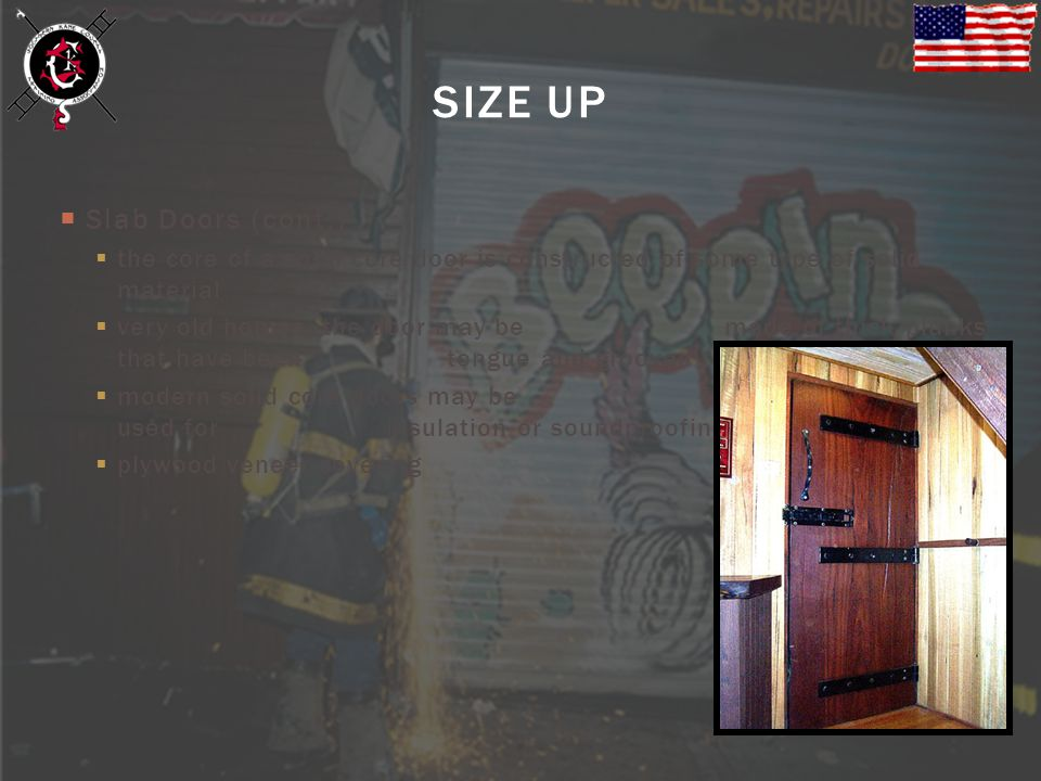 SIZE UP Slab Doors (cont.)